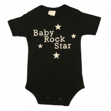 Romper Baby Rock Star